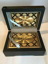 WYNN HOTEL & CASINO LAS VEGAS LIMITED EDITION GOLD PLAYING CARDS 1 OF 5000 RARE