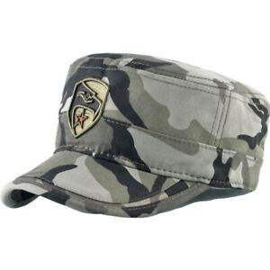 9ee056644 Details about Camouflage Flat Hats Men Breathable Tactical Snapback Caps  EAGLE Embroidery Army