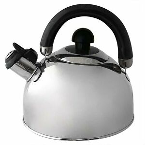 Alpine cuisine 2 5 liter stainless steel whistling tea for Alpine cuisine tea kettle