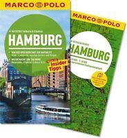 !! Hamburg 2014  UNGELESEN Reiseführer mit Karte Marco Polo