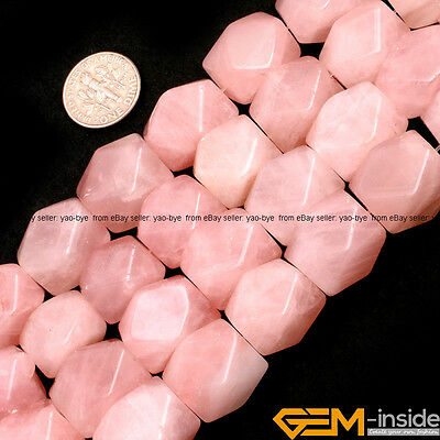 Natural 13x18mm Freeform Column Jewelry Making Loose Gemstone Beads Strand 15""