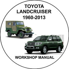 Toyota Landcruiser 1960-2013 Workshop Service Repair Manual