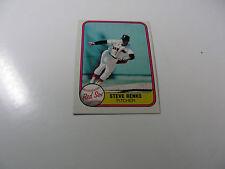 Steve Renko 1981 Fleer card #231