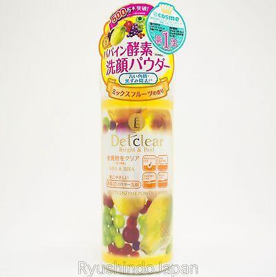 Meishoku Detclear Powder Wash with Fruits Enzyme AHA & BHA Mix Fruits Fragrance