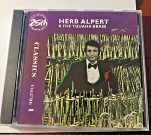 HERB ALPERT AND TIJUANA BRASS CLASSICS VOLUME 1(CD1990 A&M) EXCELLENT MINT COND