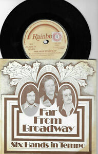 SIX-HANDS-IN-TEMPO-FAR-FROM-BROADWAY-SIGNED-7-034-EP-RSL-0002-PLAYS-GREAT