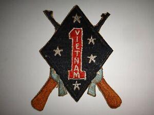 Vietnam War USMC 1st And 2nd Bns 27th Marine Regiment 1st marine Division Patch
