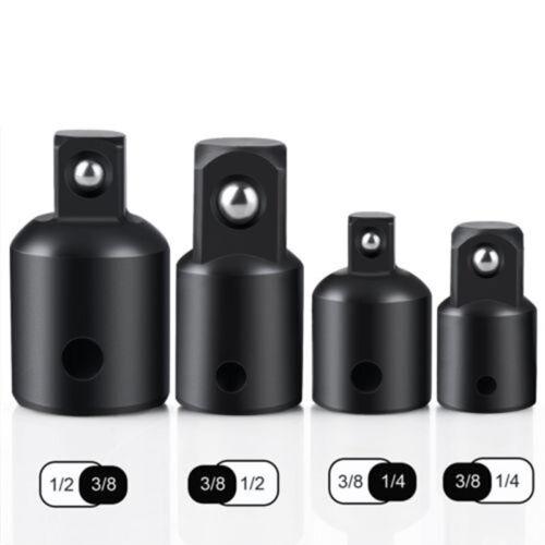 12pcs 1cm zu 0.6cm 1.3cm Ratsche Buchsen Adapter Reduzierer Druckluft Set 2019