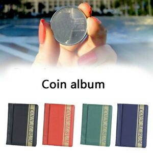 120-Pockets-Coins-Album-Collection-Coin-Storage-Holders-Commemorative-Album-Book