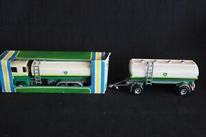 "Nacoral Scania 140 V8 Tank Truck with trailer  ""BP"" 1:50 #211 (J&KvW)"