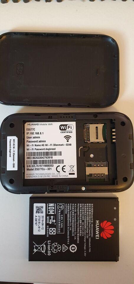 Router, wireless, Huawei E5577