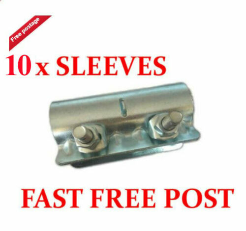 10 x Scaffolding Scaffold Fittings Sleeve Couplers Clamps FAST FREE COURIER SHIP