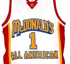 TRACY McGRADY JERSEY McDONALD ALL AMERICAN NEW SEWN ANY SIZE