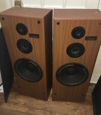 SONY SS-U521av  Pair 3 way 270w  floor standing speakers Made In USA Need Refoam