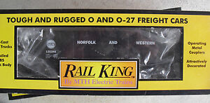 MTH-Rail-King-O-Scale-Norfolk-amp-Western-Hopper-Car-in-Box-RK-7506L