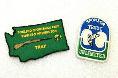 Trout Unlimited Logo Patch