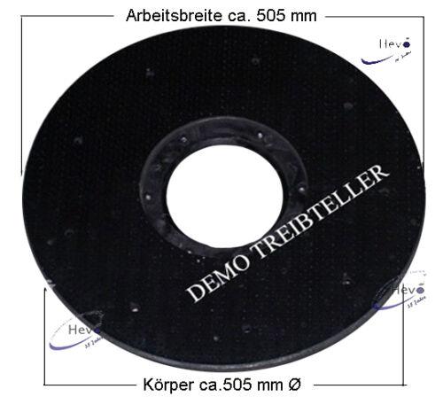 Dom-Treibteller Igelbelag passend für Elektroma Progress 536-505 mm Ø