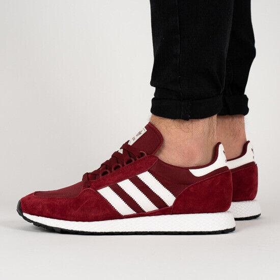 Schuhe Adidas Originals Herren Forest Grove CG5674 Rot rot Neu Original 2019