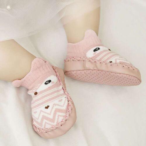 Kinder Lauflernschuhe Krabbelschuhe Socken Babyschuhe Baby Rutschfest Schuhe Hot