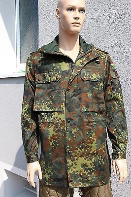 Bundeswehr Feldjacke Parka Jacke Bundeswehr Jacke flecktarn  44/46, 48/50, 52/54