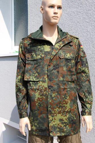 48/50 52/54 Bundeswehr Feldjacke Parka Jacke Bundeswehr Jacke flecktarn  44/46