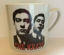 THE KRAYS ceramic mug RONNIE AND REGGIE KRAY twins GANGLAND CRIME London Boxing