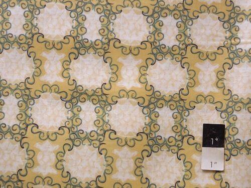 Free Spirit Design Loft  PWFS023 Chiffon Gilted Gold Fabric By Yard