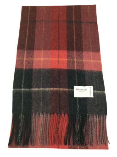 100/% Lambswool Luxury Scottish Tartans Multicolour Scarf