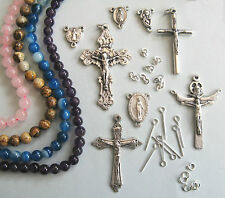 Rosary Making Kit With Gemstone Beads