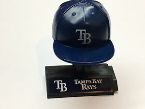 MLB Mad Lids NEW Tampa Bay RAYS cap w stand collectible figure  9cf0dae1a8b