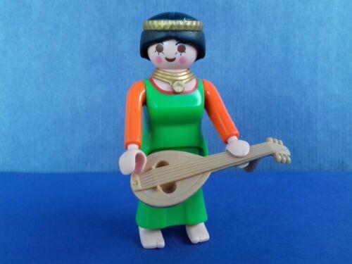 Une femme troubadour PLAYMOBIL Chevalier//Moyen âge
