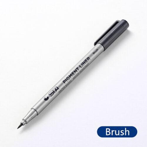 Zeichnung Line Stift Tinte Marker Punkt Schwarz Fein Liner Glatt Profis Geschenk