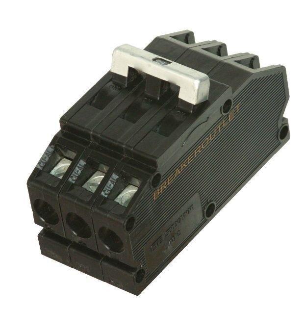 Zinsco QB24 QB QB243020 3 Pole 20 amp 240v Circuit Breaker