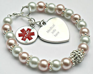 Image Is Loading Medical Alert Bracelet Engraved Warfarin User Any Condition