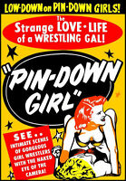 Pin-down Girl - 1951 Dvd - Peaches Page - Women's Wrestling - Playable Worldwide