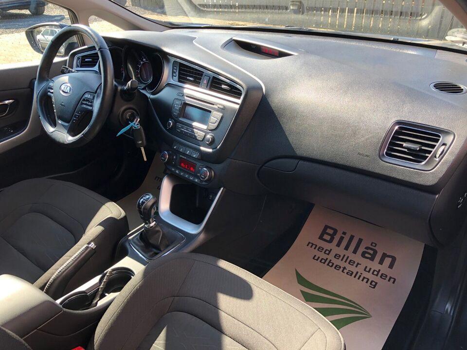 Kia Ceed 1,4 CVVT Style+ Clim SW Benzin modelår 2016 km 51000