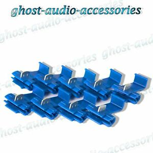 20x-Blue-Scotchlocks-Scotchlock-Terminal-Fitting-Connectors-to-Splice