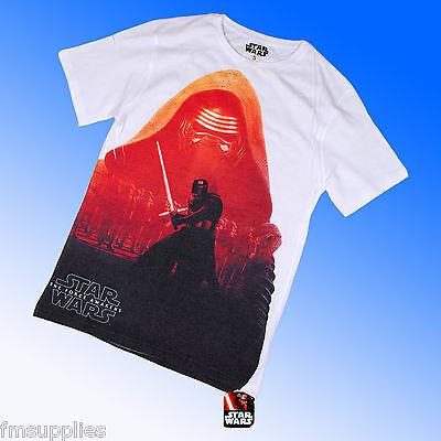 Official Genuine Star Wars 7:The Force Awakens VII Kylo Ren Tee T Shirt S M L XL