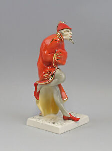 Buy Cheap 9941845 Porcelain Figurine Mephisto Red/gray/gold Ens Height H24cm Fragrant Flavor In