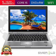 HP ELITEBOOK 2560p LAPTOP WINDOWS 10 WIN INTEL i5 2.6GHz 4GB 160GB HD WiFi DVDRW