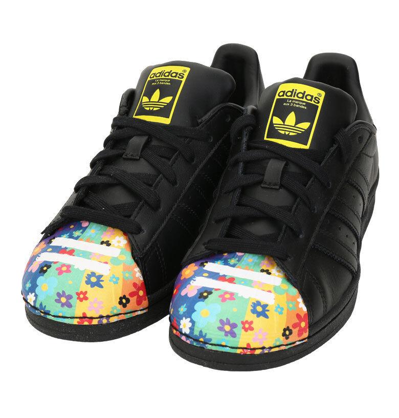 Adidas Originales Superstar Pharrell S83362 Tenis Deportivas Zapatos Negro
