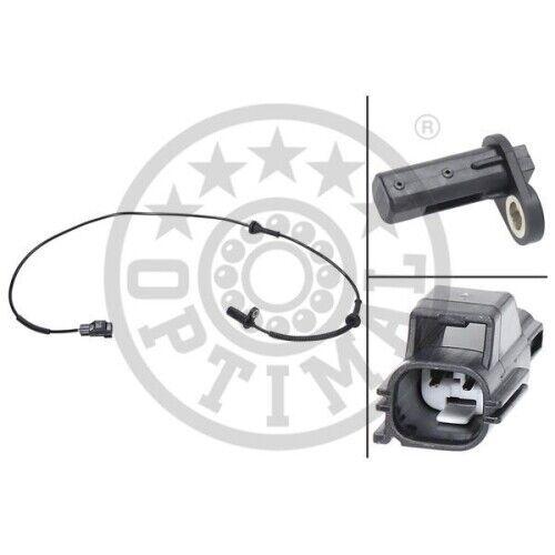 ABS Sensor Drehzahlfühler Raddrehzahlfühler OPTIMAL Vorderachse links 06-S469