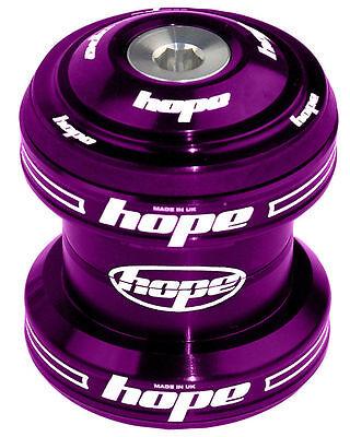 "Hope Conventional Headset 1-1//8/"" MTB XC AM Enduro DJ Silver Brand New"