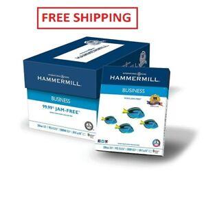 HP Office Ultra-White Paper 92 Bright 20lb 8-1//2 x 11 500//Ream 5//Carton 112103