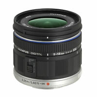 Olympus M.zuiko Digital Ed 9-18mm F/4-5.6 Mft (black) Lens