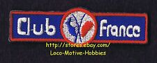 """LMH PATCH Badge  F.F. HANDBALL CLUB FRANCE  League  ROOSTER Red Blue Logo 2-3/4"""""""