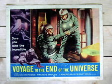 VOYAGE TO THE END OF THE UNIVERSE Original SCI-FI SPACE Lobby Card