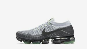 a6890accde777 Image is loading Nike-Air-VaporMax-Flyknit-Heritage-Pack-Pure-Platinum-