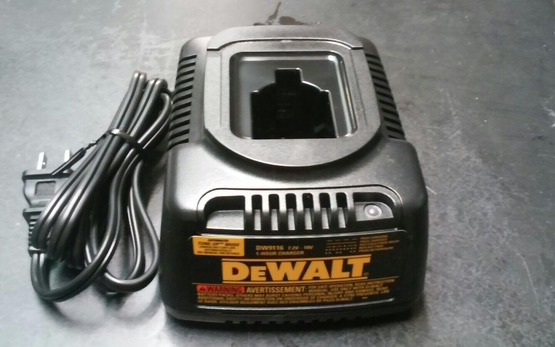 Dewalt 388683-12 7.2v-18v Ladegerät Original DW9116