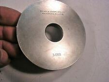 Brown Amp Sharpe 300 Ring Gauge Reference Standard